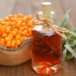 rakytníkový olej a plody rakytníka