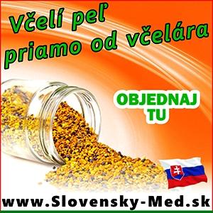 slovenský včelí peľ