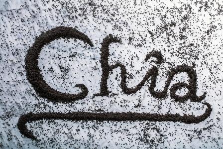 slovo chia zlozene zo semien chia
