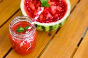 smoothie z melonu