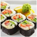 sushi morske riasy