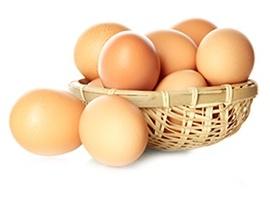 vajíčka v košíku