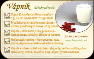 Vápnik - info obrázok
