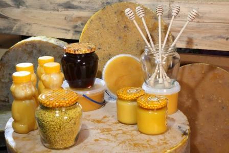 vceli vosk, plast, med, pel, propolis - vyrobky vcelarstva