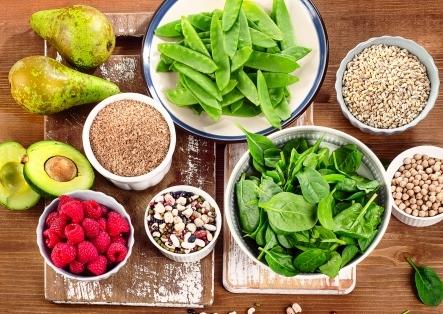 potraviny s obsahom vlakniny