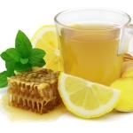 zázvorový čaj