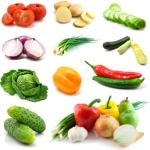 zelenina - nízka energetická hodnota